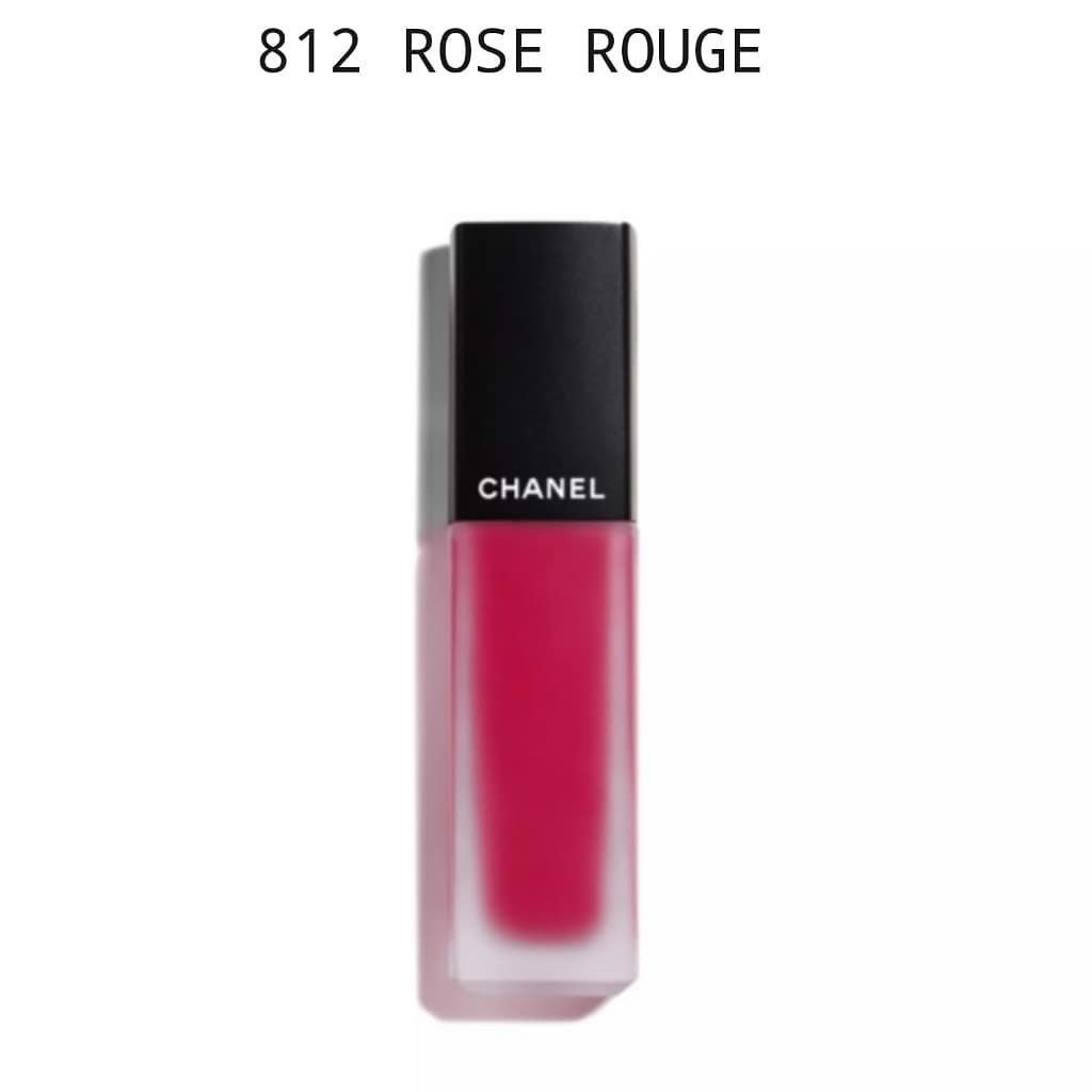 Son Kem Chanel Allure Ink Fusion Chanel 812 Rose-Rouge NEW