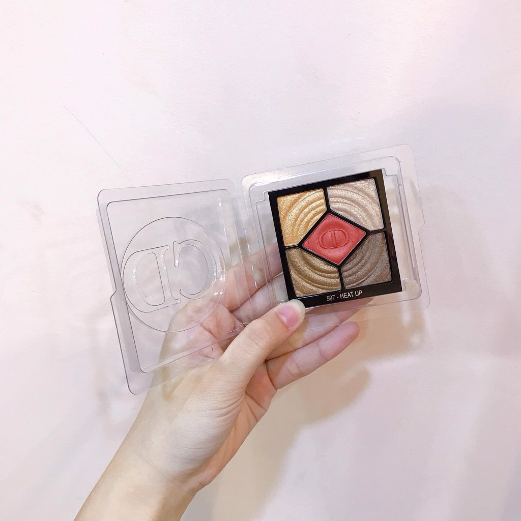 Bảng Mắt Eye Shadow Palette 5 Couleurs Wild Eeath 597 Heat Up Tester Full Size