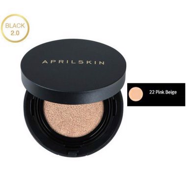 Phấn Nước April Skin Magic Snow Cushion Tone 22 Pink Beige