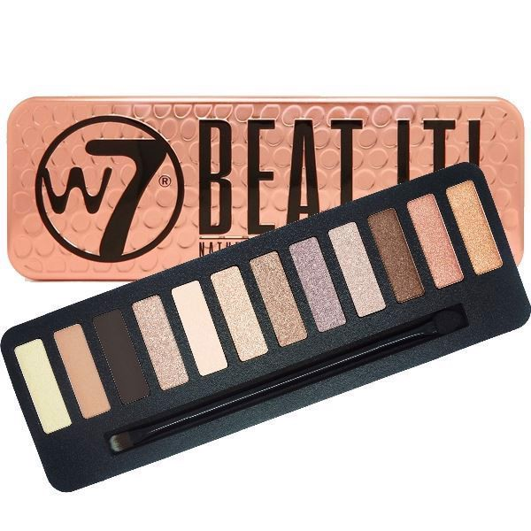 Bảng Phấn Mắt W7 Beat It Natural Nudes