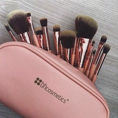 Bộ Cọ BH cosmetics BH Chic 14 Piece Brush Set with Cosmetic Case