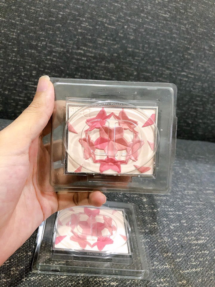 Phấn Má Hồng Highlight Diorsnow Blush And Bloom Palette Tester Full Size