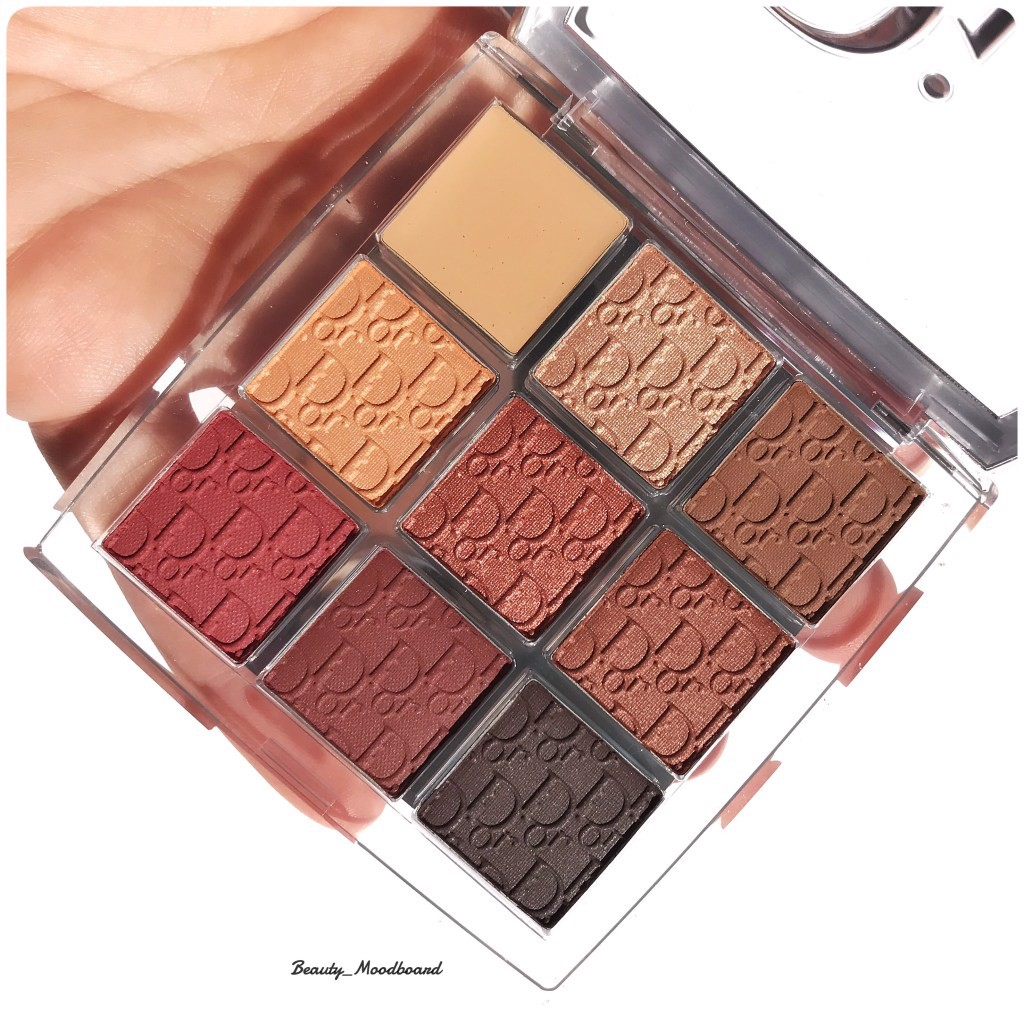 Màu Mắt Dior Backstage Eye Palette 003 Amber Neutrals Limited 2019