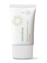 Kem chống nắng innisfree Daily UV protection cream no sebum SPF35 PA+++
