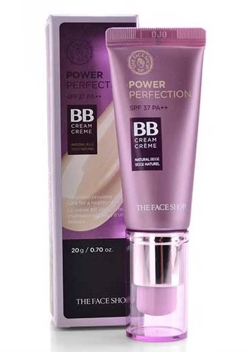 Kem Nền The Face Shop BB Cream Power Perfection SPF37 PA++