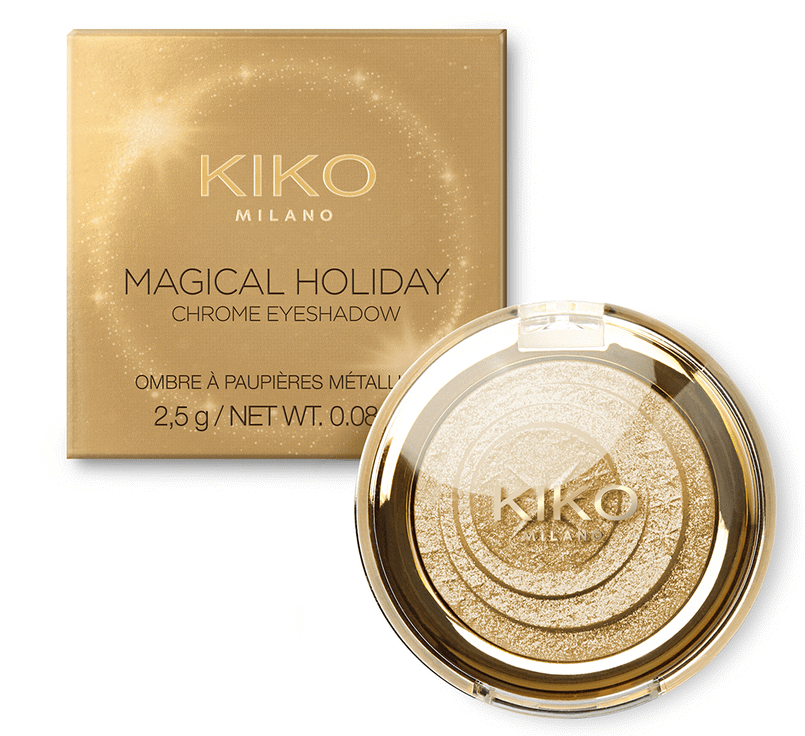 Phấn Mắt Kiko Milano Magical Holiday Chrome Eyeshadow