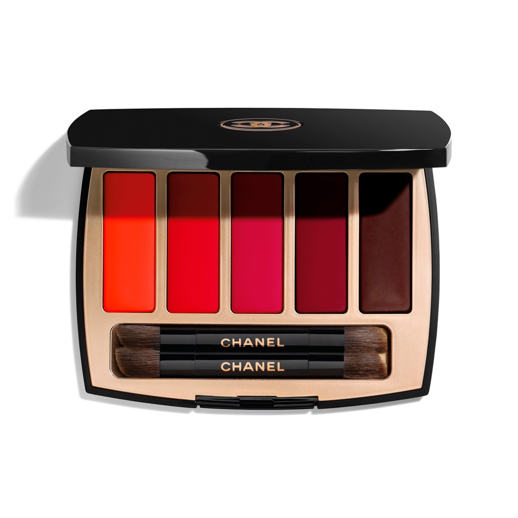 Set Son Chanel La Palette Caractère Lipstick Collection Limited
