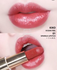 Son Kiko 01 Ocean Feel Sparkle Lipstick Limited