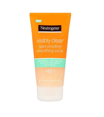 Sữa rửa mặt Neutrogena Visibly Clear Spot Proofing Smoothing Scrub 150ml