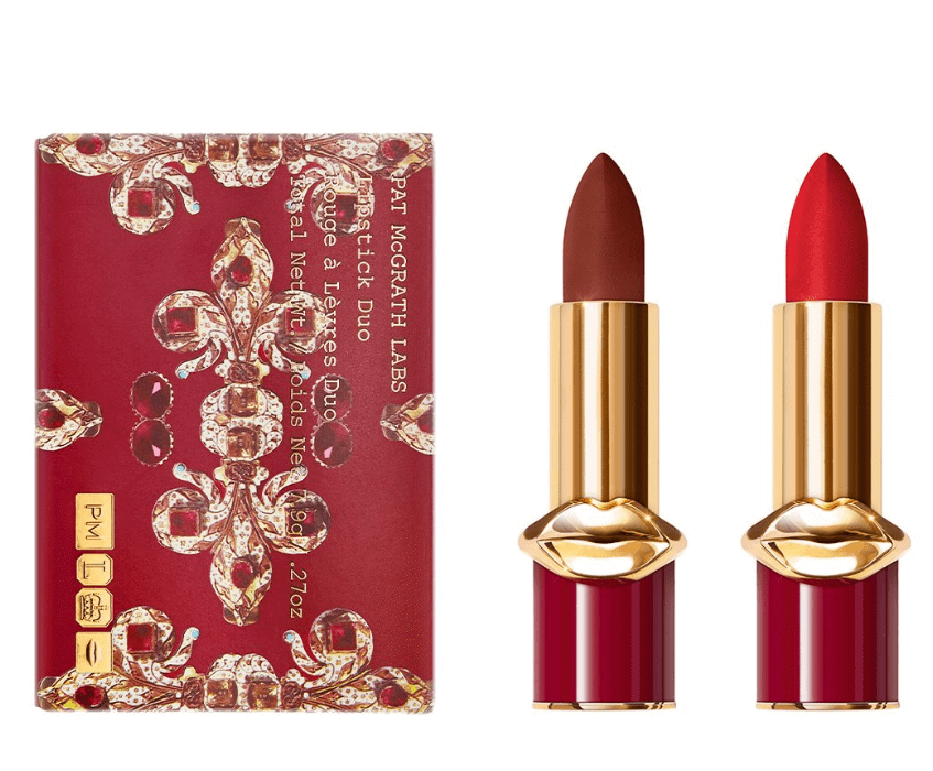 Set Son Pat McGrath Labs Lipstick Dou ( 107 Omi + 003 Elson)