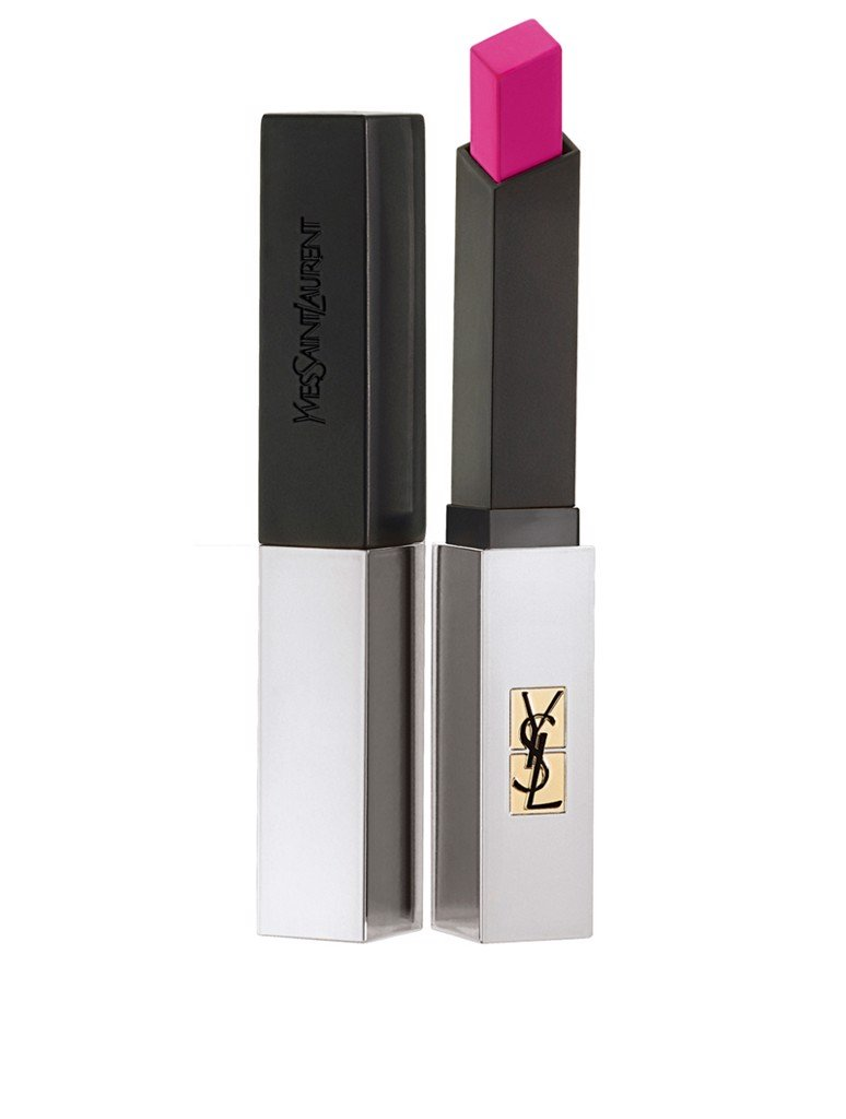 Son YSL Rouge Pur Couture The Slim Sheer Matte Màu 104 Fuchsia Intime