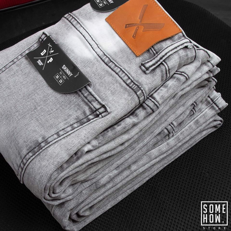 Jeans D.P Grey Ripped