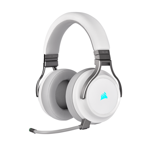 Tai nghe Corsair Virtuoso RGB Wireless - White