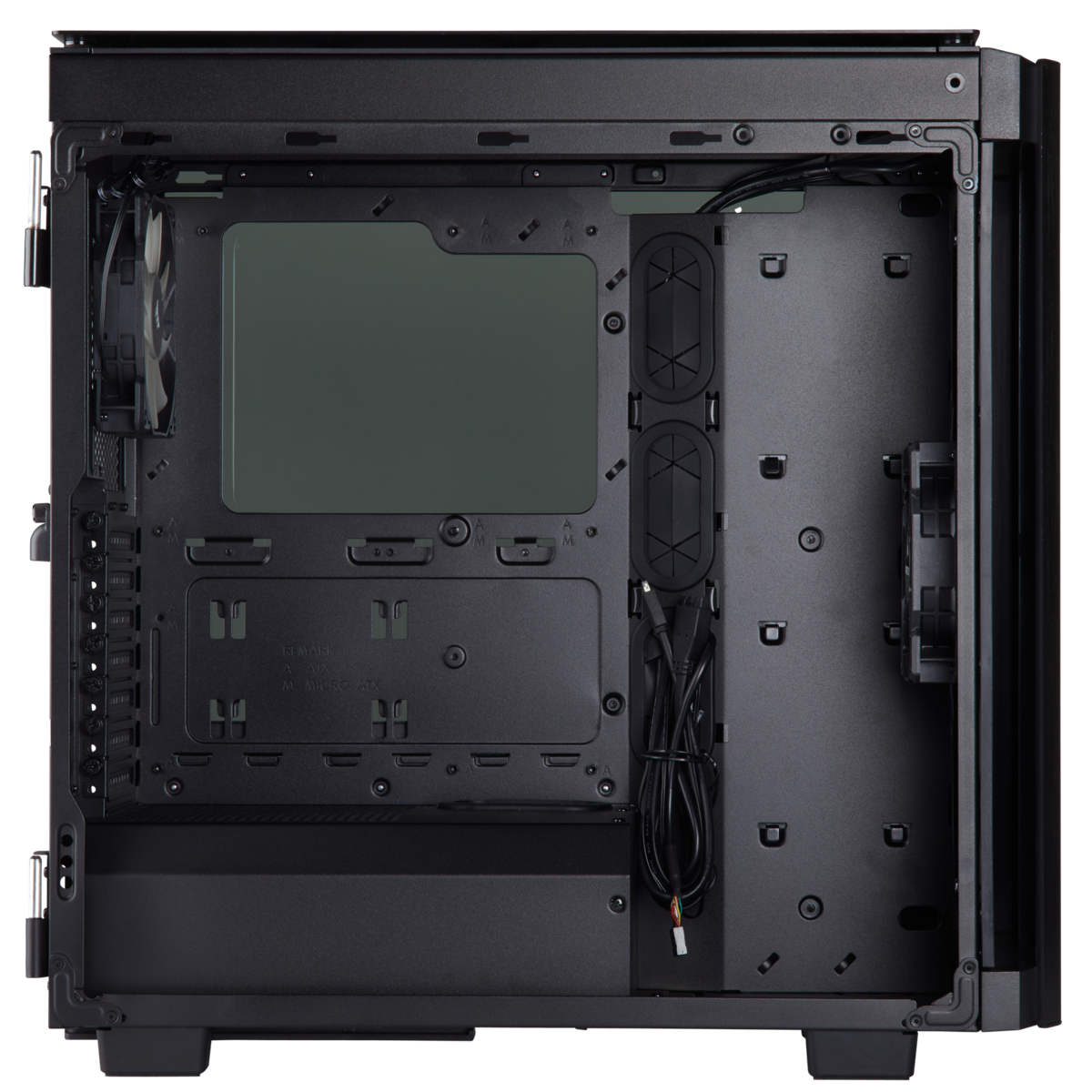 (Mid-Tower) Case Corsair Obsidian Series® 500D Premium