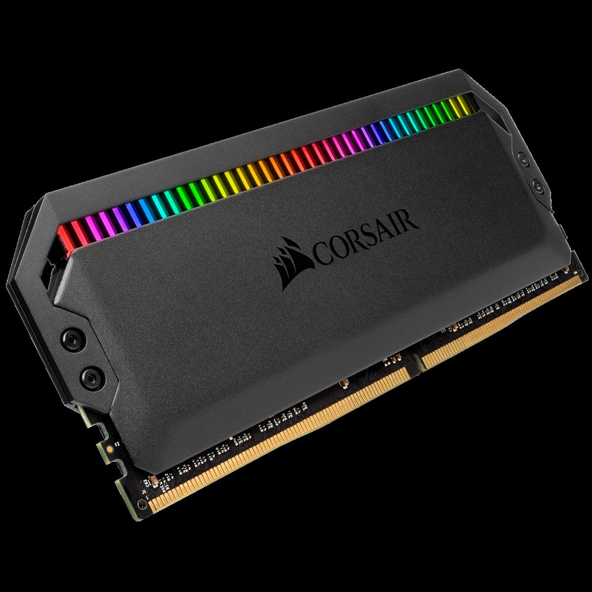 (16G DDR4 2x8G 3000 ) Corsair Dominator Platinum RGB