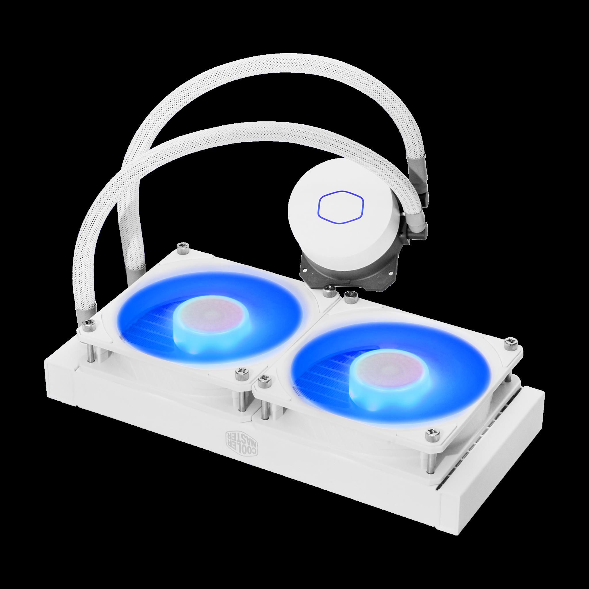 GEARVN.COM - Tản nhiệt Cooler Master MASTERLIQUID ML240L V2 RGB White Edition