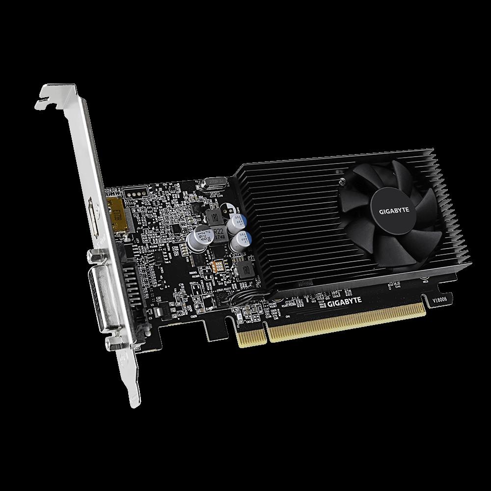GEARVN.COM - Card màn hình Gigabyte GeForce GT 1030 Low Profile D4 2G