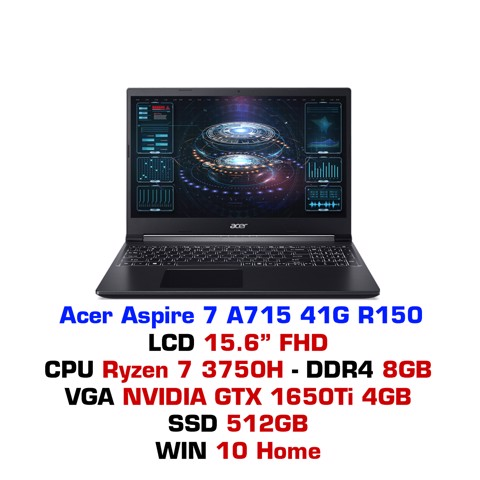 Laptop gaming Acer Aspire 7 A715 41G R150