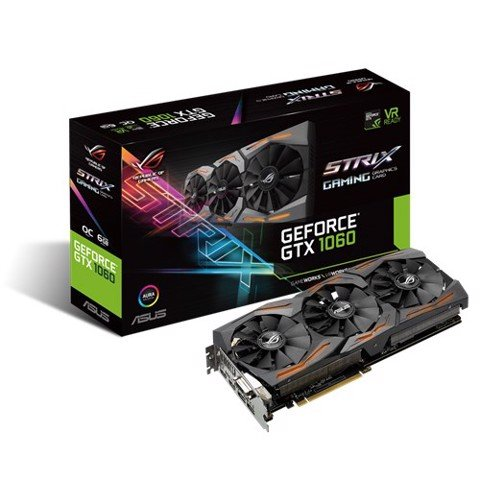 Asus ROG Strix GTX 1060 Gaming Edition OC6G GDDR5
