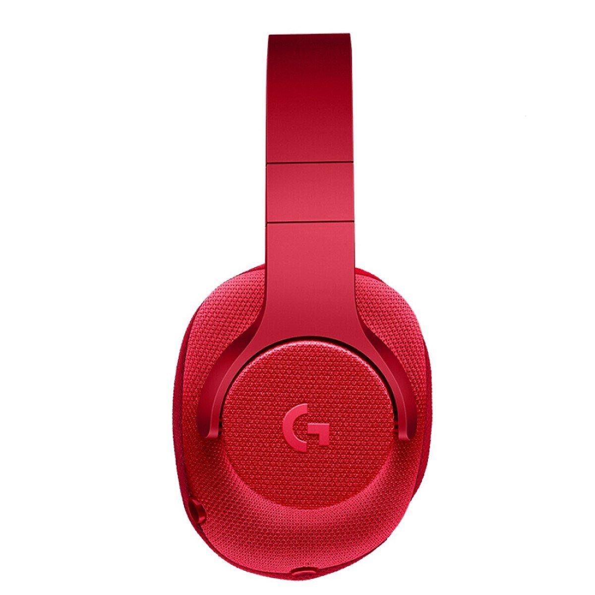 Tai nghe Logitech G433 Red