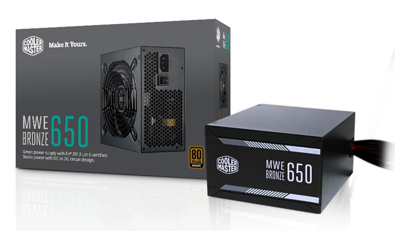 Cooler Master MWE 650 80Plus Bronze