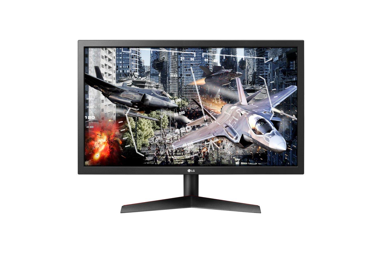 """( TN 24"""" ) LG 24GL600F - B 144Hz Gaming"""