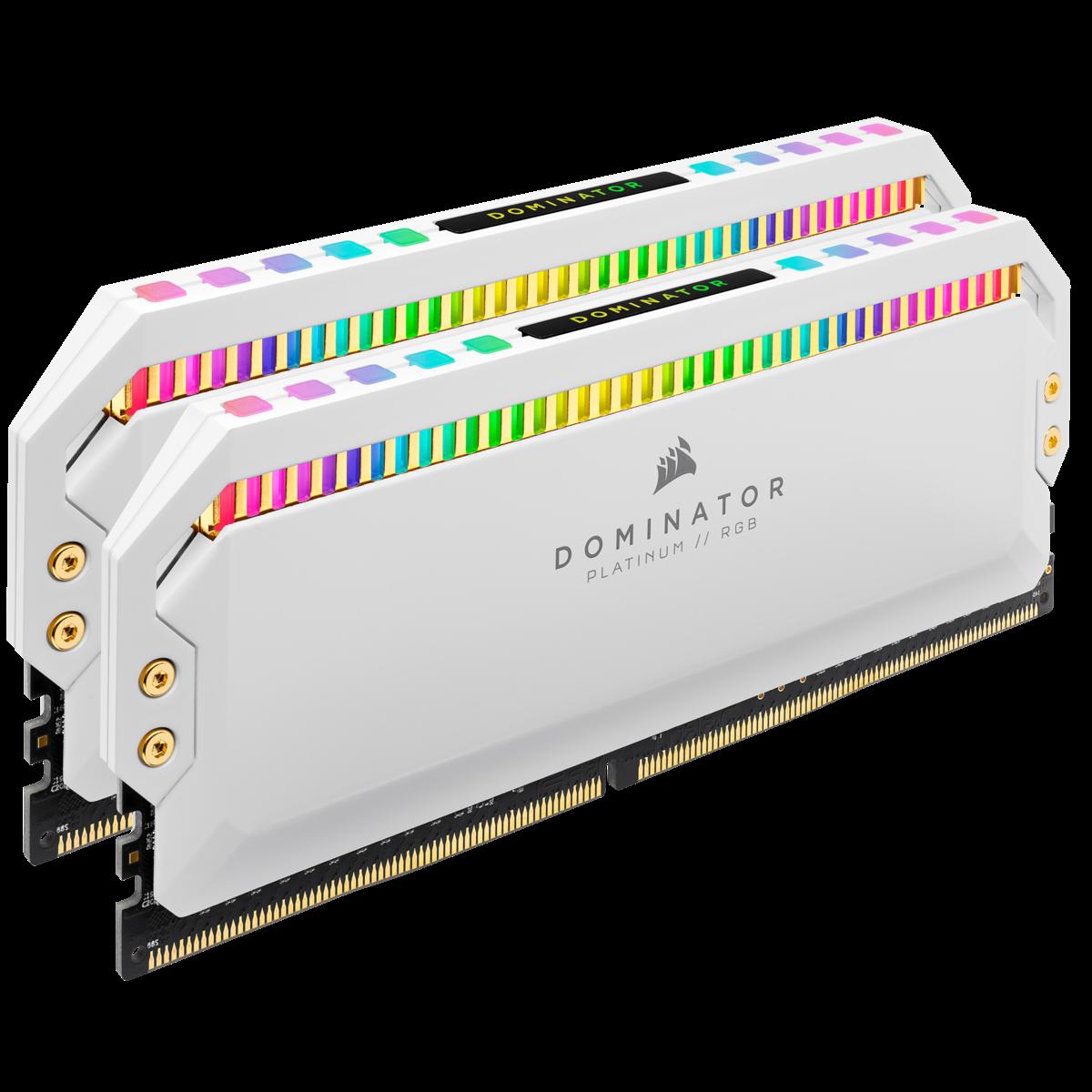 16G DDR4 2x8G 3200 ) Corsair Dominator Platinum RGB White – GEARVN.COM