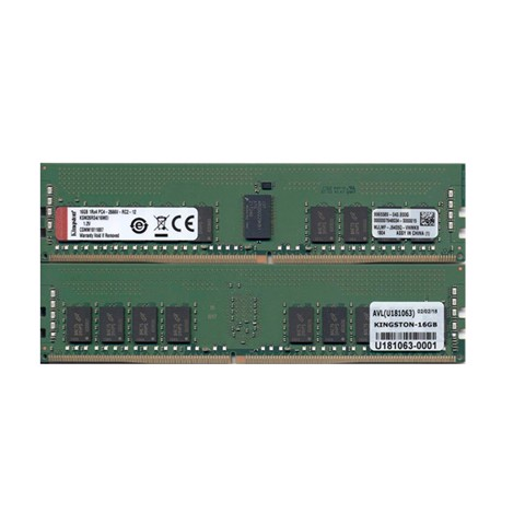 (16GB DDR4 1x16GB 2666) RAM Kingston ECC 16GB DDR4 CL17