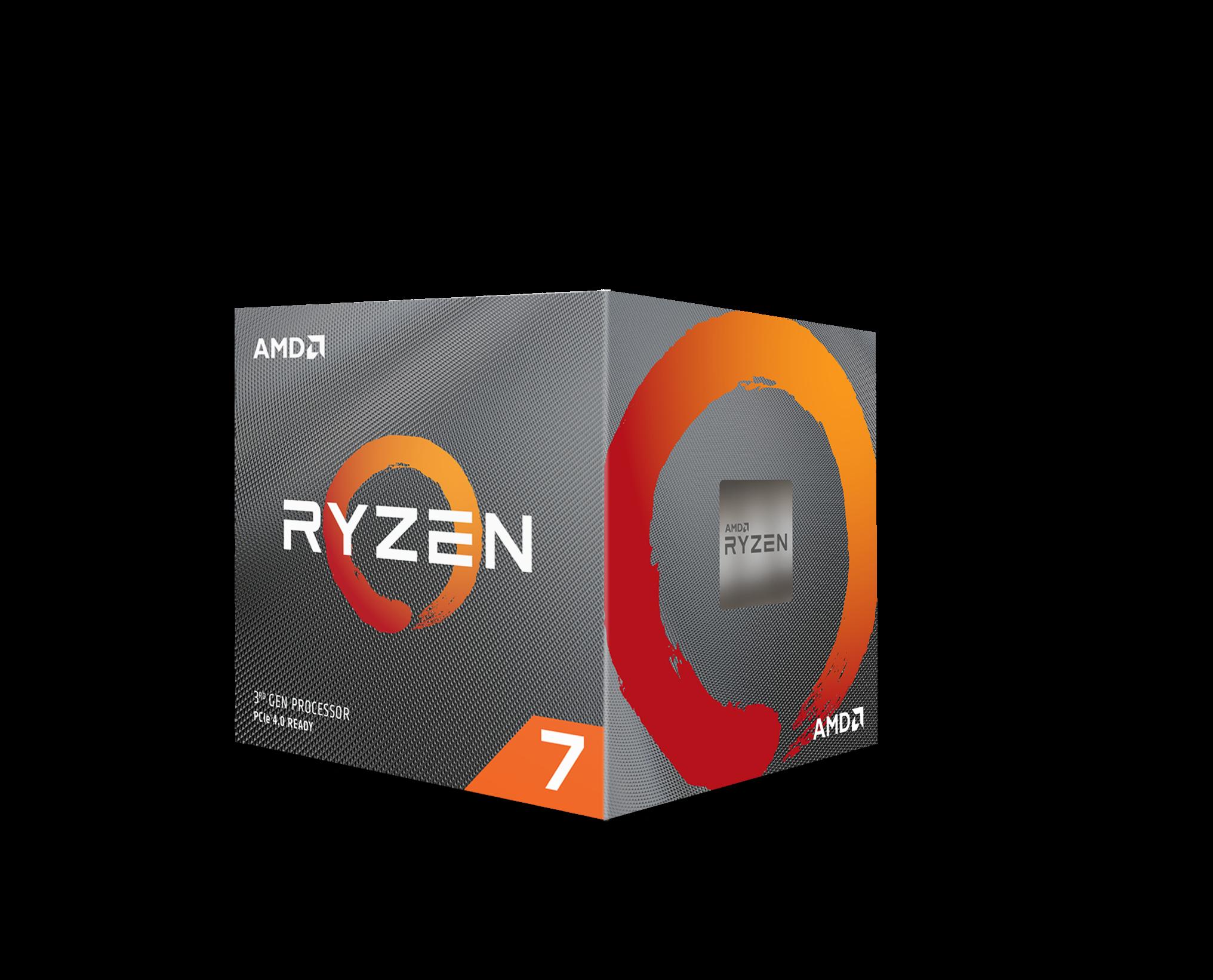 AMD Ryzen 7 3700x /36MB /3.6GHz /8 nhân 16 luồng
