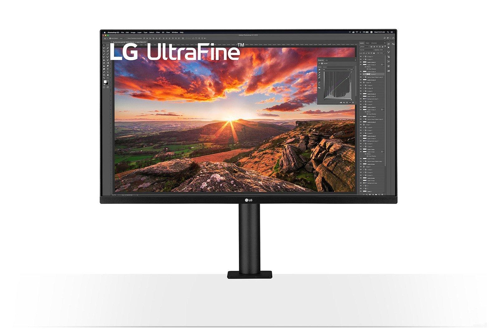"""Màn hình LG 32UN880-B 32"""" IPS 4K HDR 10 chuyên đồ họa"""