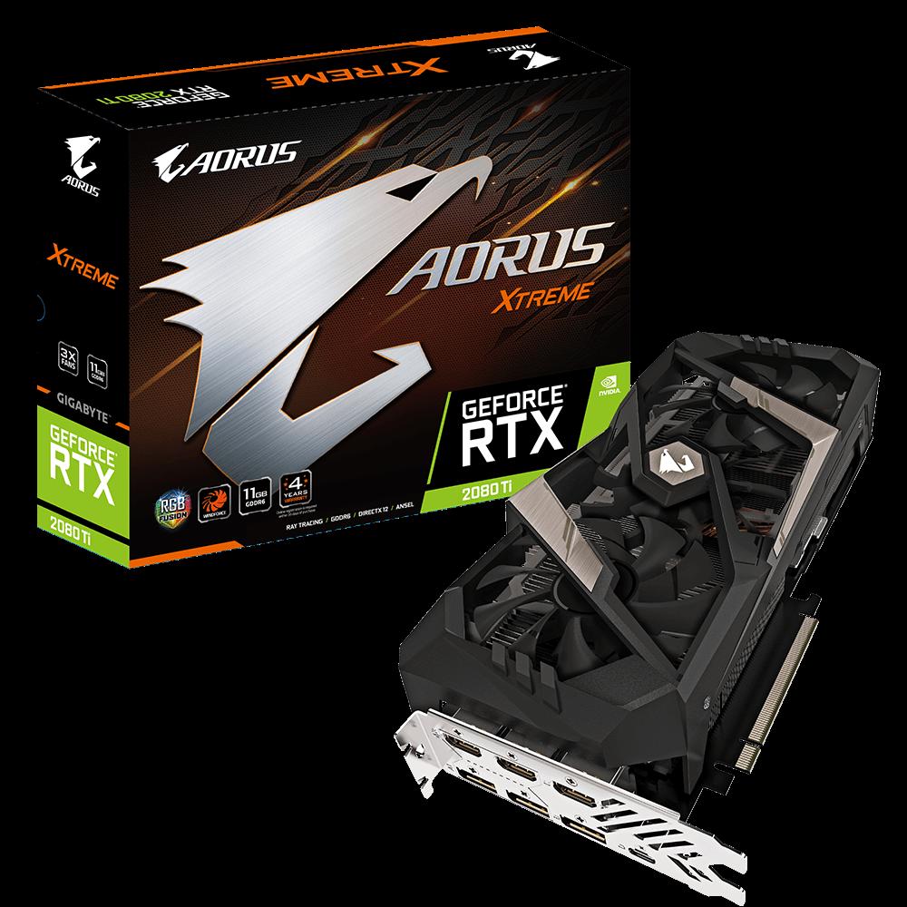 AORUS GeForce® RTX 2080 Ti XTREME 11G