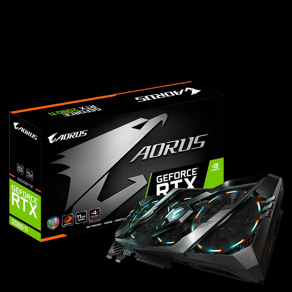 AORUS GeForce® RTX 2080 Ti 11G GDDR6