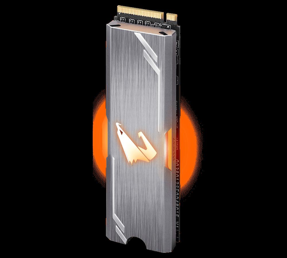Gigabyte SSD AORUS RGB M.2 NVMe 256GB