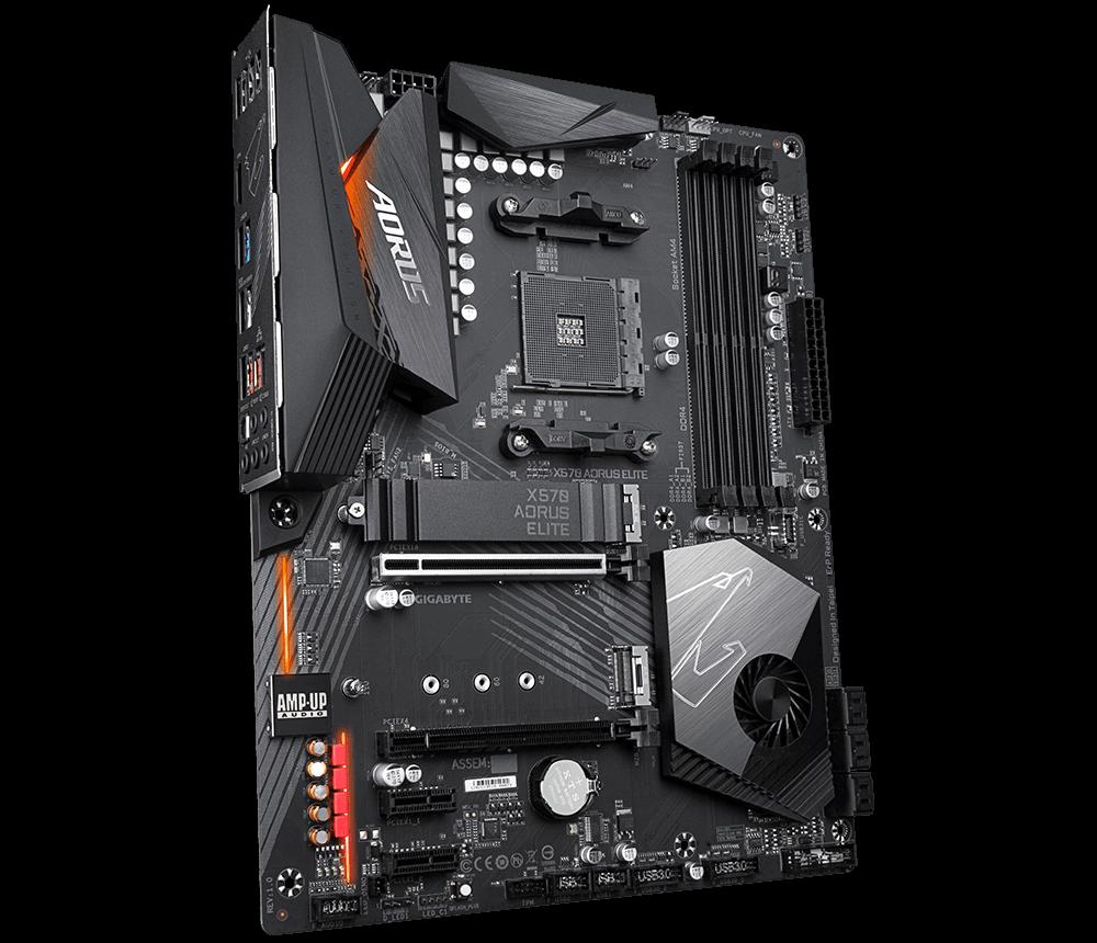 GIGABYTE X570 AORUS ELITE (AMD Socket AM4)