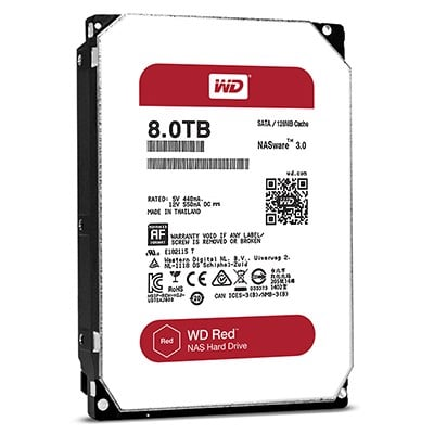 WD HDD 8TB Red 5400rpm
