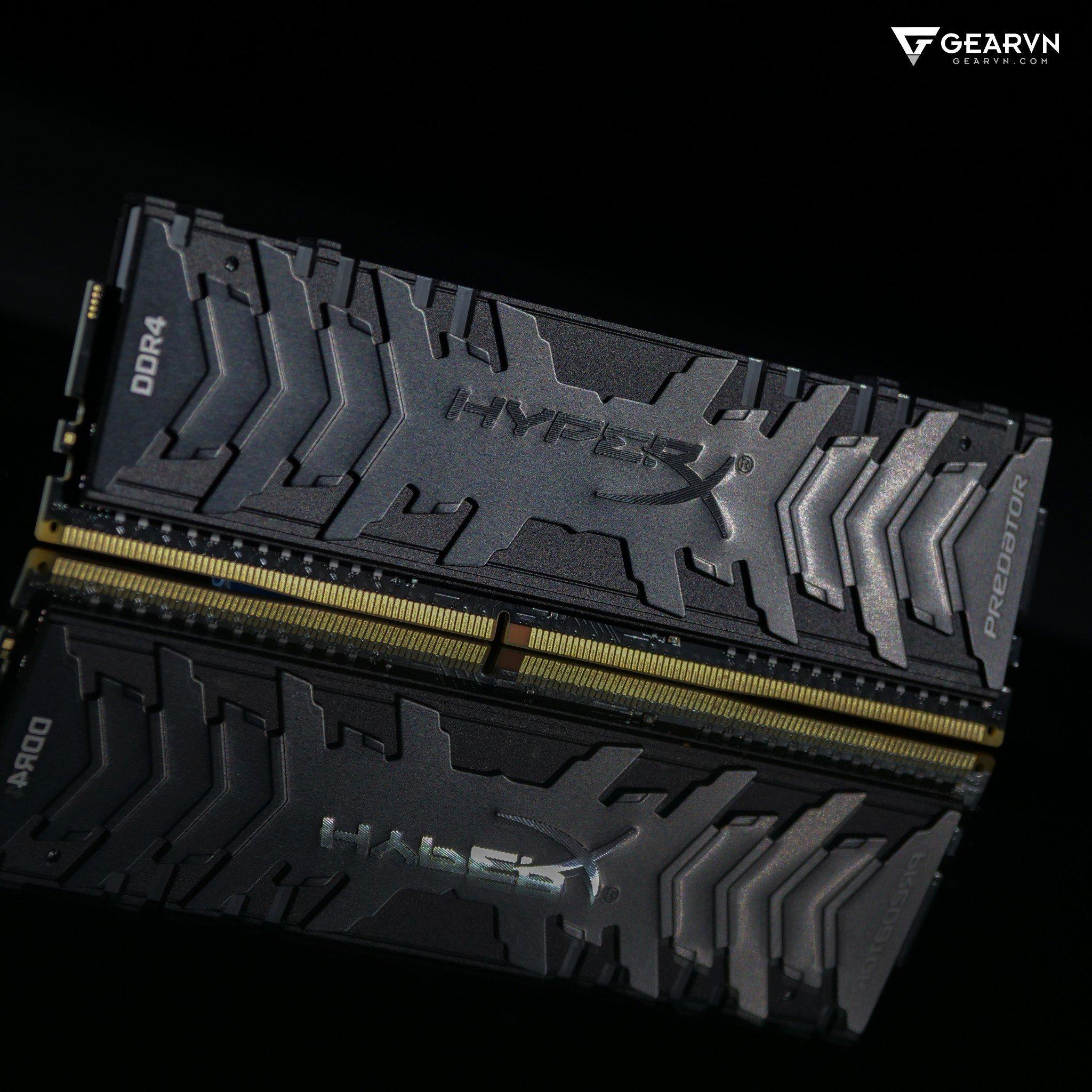 (8GB DDR4 1x8G 3200) HyperX Predator RGB