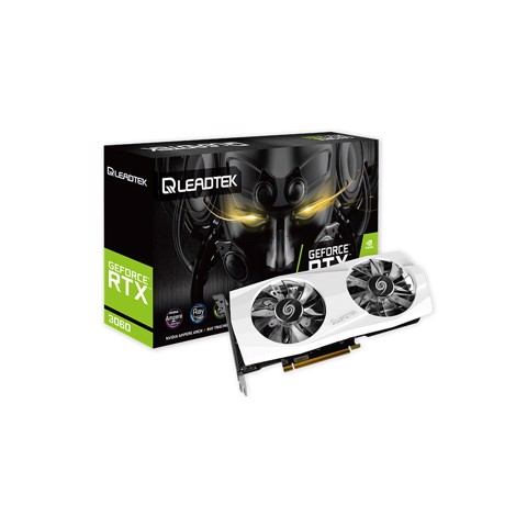 LEADTEK WinFast RTX 3060 HURRICANE WHITE EDITION