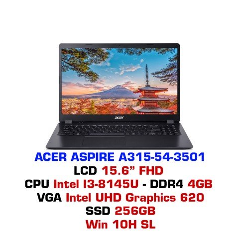 Laptop Acer Aspire A315-54-3501
