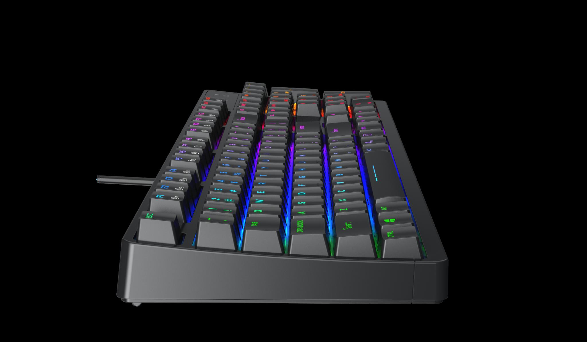 Bàn phím Gaming DareU DK1280 RGB