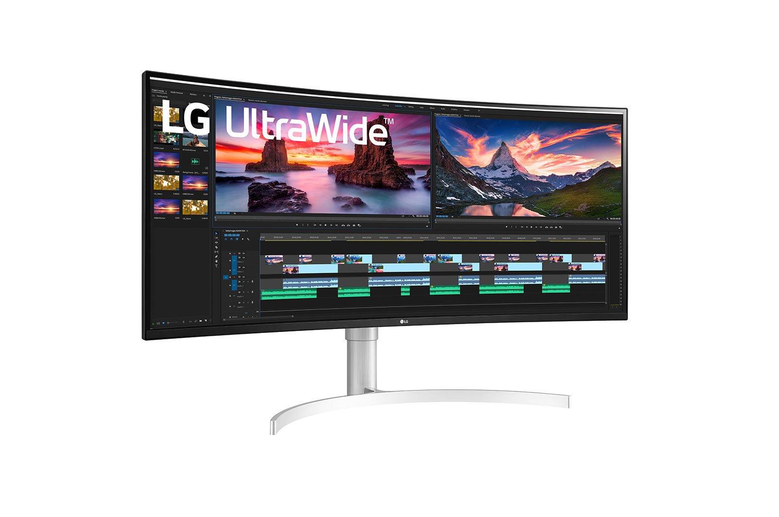 """Màn hình cong LG 38WN95C-W 38"""" IPS 2K 144Hz Gsync compatible"""