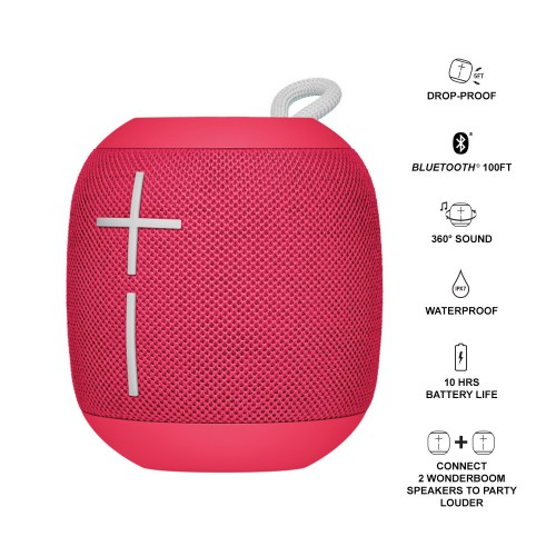 Ultimate Ears WonderBoom - Raspberry