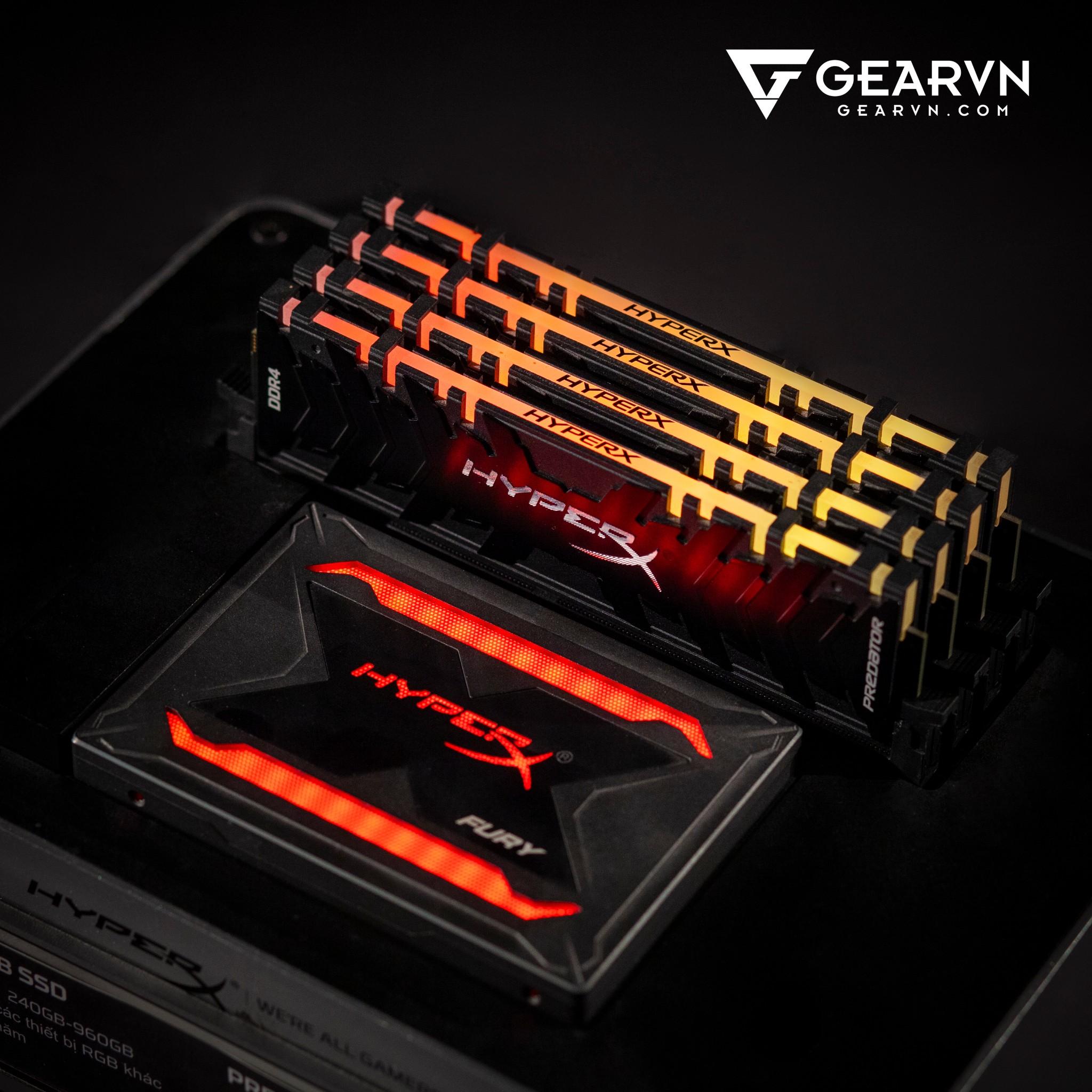 (16GB DDR4 2x8G 3200) HyperX Predator RGB