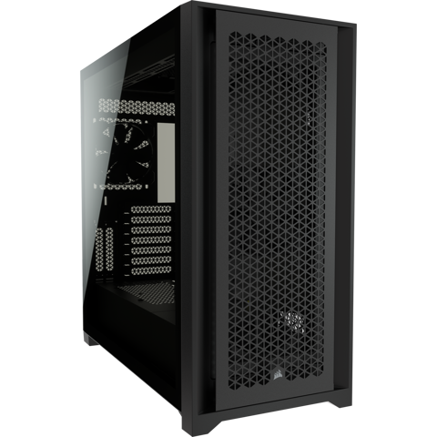 Case Corsair 5000D AIRFLOW Tempered Glass Black
