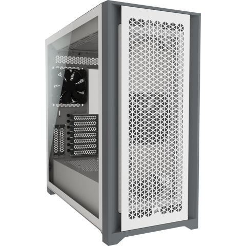 Case Corsair 5000D AIRFLOW Tempered Glass White