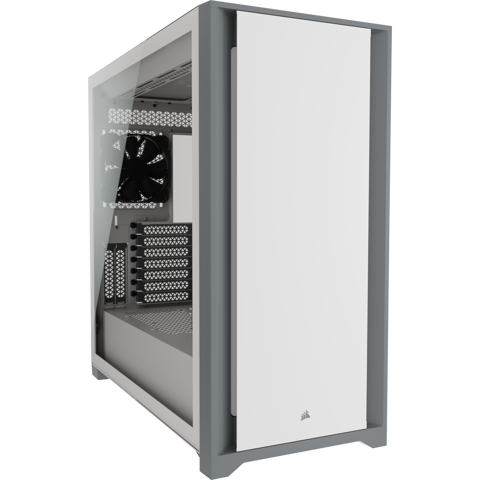 Case Corsair 5000D Tempered Glass White