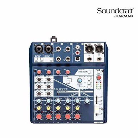 Mixer Soundcraft Notepad 8FX