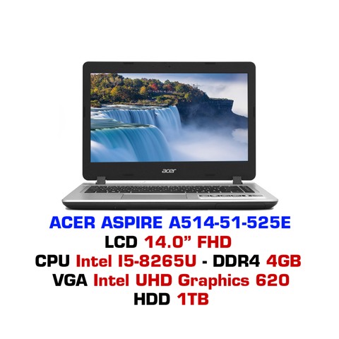 Laptop Acer Aspire 5 A514-51 525E