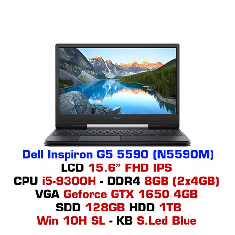 Laptop Dell Inspiron G5 5590 N5590M (2019)