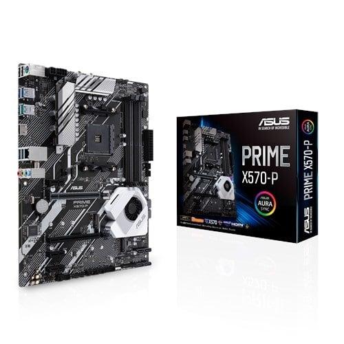 ASUS X570-P PRIME (AMD Socket AM4)