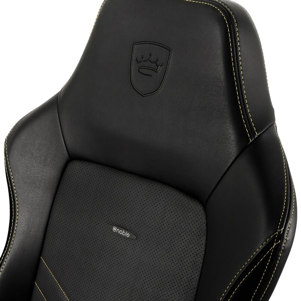 Ghế Gamer Noble Chair - Hero Series Black/Gold